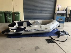 Inflatable boat, dingy, tender, up to 15hp