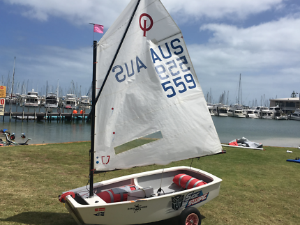 Optimist Dinghy - ideal for transition to Silver Fleet