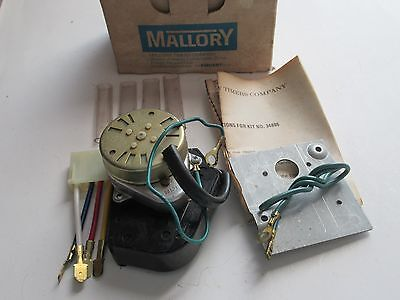 Mallory 34886 Defrost Timer Kit New