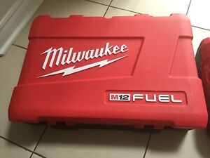 Milwaukee M12 Fuel cases only