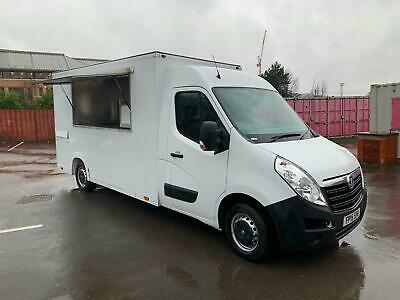 RENAULT MASTER MOBILE CATERING/BURGER/FOOD/COFFEE/ 2015REG,VAN FOR SALE