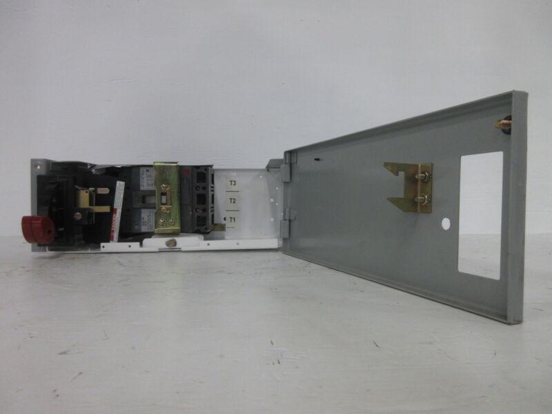 """General Electric GE 8000 100 Amp Breaker Type 6"""" MCC Feeder Bucket 100A"""