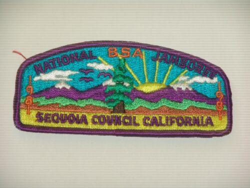Sequoia Council califodrnia 1981 JAP