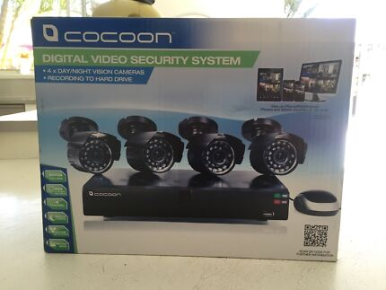 Brand new!! SECURITY SYSTEM 4 x day/night cameras + hard drive  Barden Ridge Sutherland Area Preview