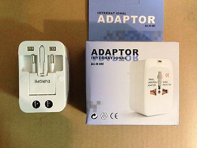 International Travel Power Adapter (All-in-One International Travel Power Charger Universal Adapter Plug AU/UK/US/E )