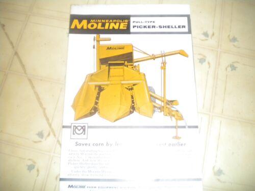 Minneapolis Moline Pull Type Picker Sheller brochure