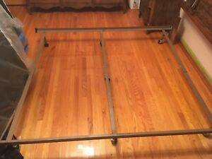 Wood vintage bed frame
