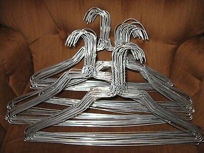 Metal Heavy Duty Hangers (BULK LOT 100 HEAVY DUTY WIRE METAL 16