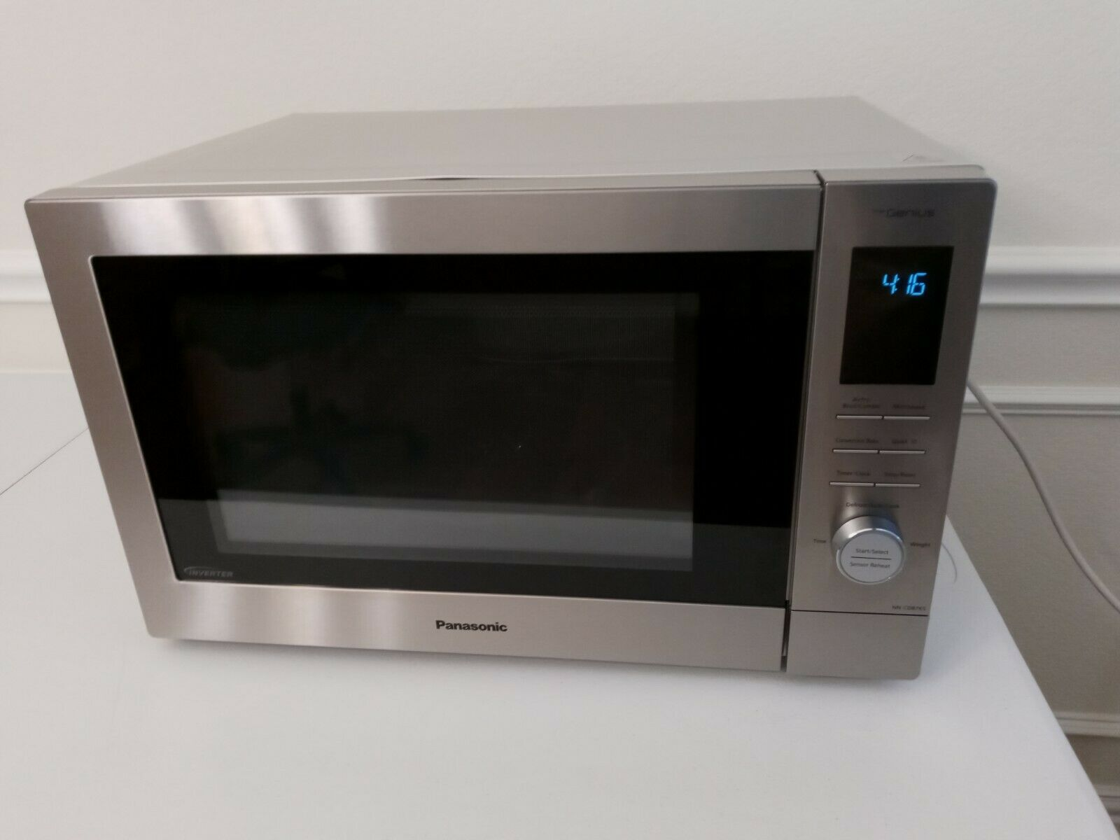 Panasonic HomeChef 4-in-1 Microwave Oven with Air Fryer, Con