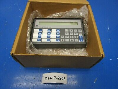 Maple Systems Gef460a-003 Mdu W 2x40 Lcd Operating Terminal New Old Stock