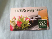 Roses only gift card Bald Hills Brisbane North East Preview
