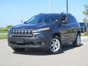 2014 Jeep Cherokee North! 4X4! Full Sunroof! Cold Weather Group!