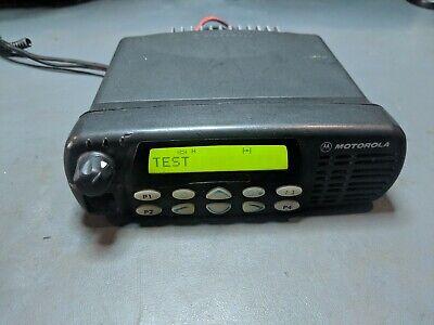 Motorola Cdm1550-ls Uhf Model - Aam25rhf9du5an 403-470mhz 1-25w 128ch Ltr Radio