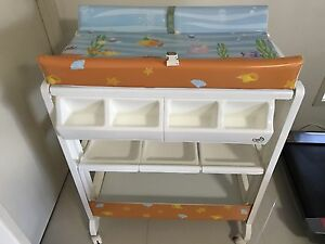Lovencare baby bath and change centre with wheels Mount Druitt Blacktown Area Preview