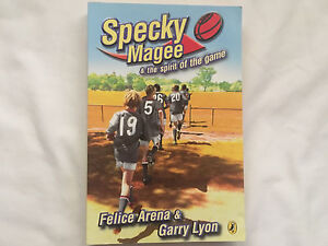 Specky Magee and the spirit of the game by Felice Arena and Garry Lyon Adelaide CBD Adelaide City Preview