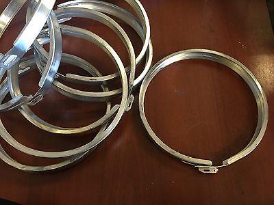 Milbank Stainless Steel Kwh Electric Meter Socket Retainer Lock Ring 4 Rings