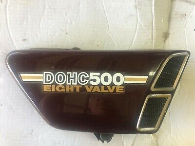 <em>YAMAHA</em> XS500 RIGHT SIDECOVER SIDE COVER PANEL