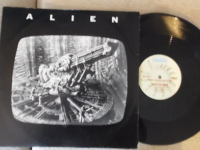 "ALIEN 12"" SINGLE.BY NOSTROMO.ORIGINAL RARE 1979 ISSUE."