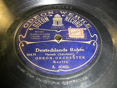 3/1 Odeon Orchester - Deutschland Ruhm - Kaiser Friedrich Marsch