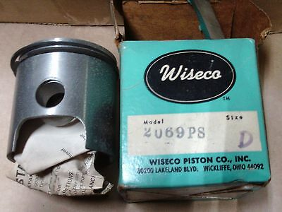 Wiseco 2069PS Piston and Rings JLO NOS 440 John D Scorpion vintage snowmobile