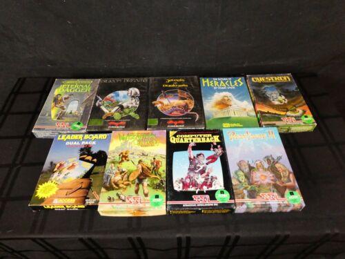 Computer Games - Collection Of 9 Atari 8-bit Computer Games In Original Boxes, Floppy Discs (390)