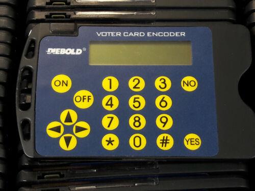 Voter Access Card Encoder for AccuVote TS / TSX / AVTSx Diebold Voting Machine
