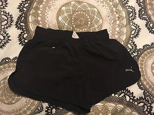 Puma quick dry running shorts