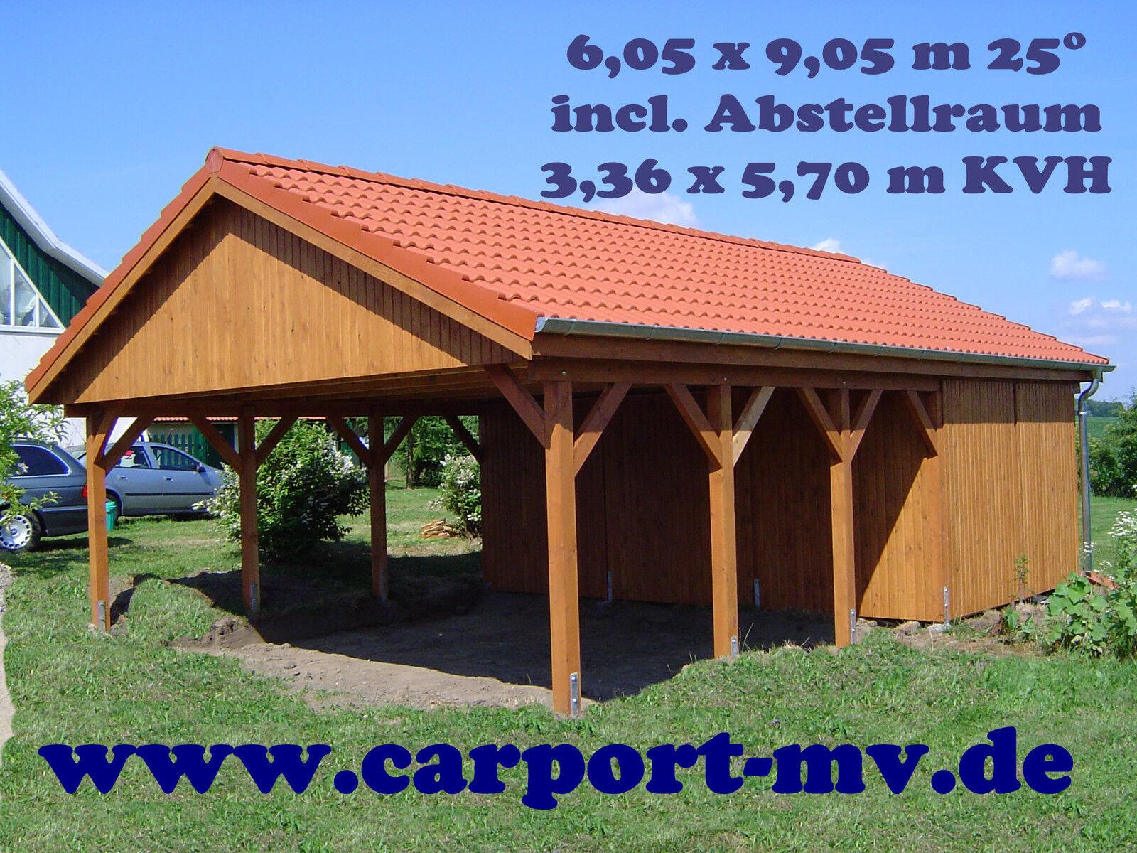 carport 6 00 x 5 80 m satteldach 15 kvh fichte doppelcarport einzelcarport top eur. Black Bedroom Furniture Sets. Home Design Ideas
