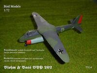 resin kit Blohm /& Voss BVP 168.03        1//72 Bird Models Resinbausatz
