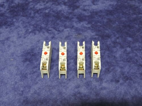 LOT OF 4 DANFOSS 037H0-112 037H0112 TYPE: CB-NC AUXILIARY CONTACT