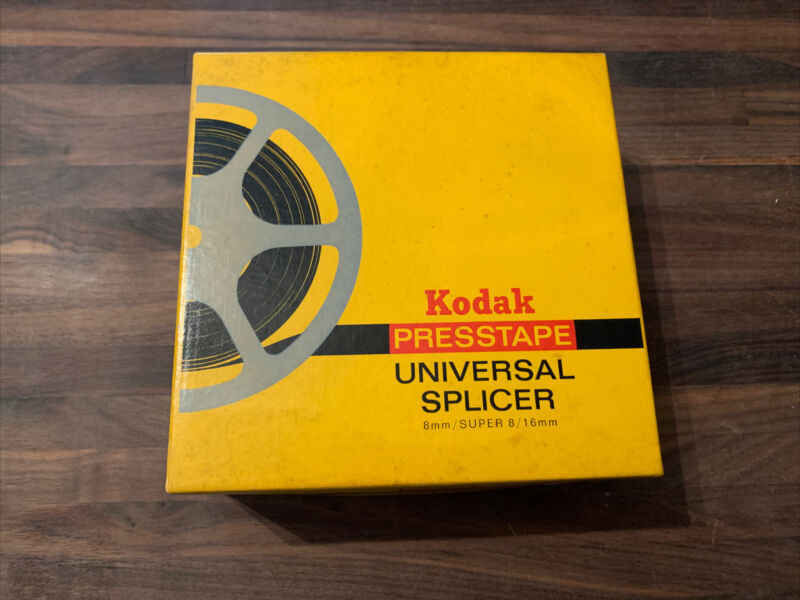 Kodak Presstape Universal Splicer 8mm/SUPER 8/16mm