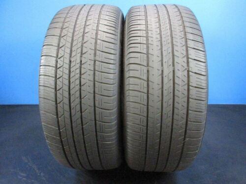2 Used Dunlop SP Sport MAXX A1 A/S   245 45 19    5-6/32 & 6-7/32 Tread   1088E