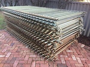 Steel Fencing - MASSIVE 114+ Lineal Metres Bayswater Bayswater Area Preview