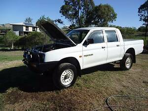 1998 MITSUBISHI DUAL CAB 4X4 UTE LOW LOW 100,000 KLMS Hatton Vale Lockyer Valley Preview