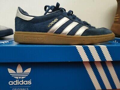 Adidas Munchen Blue/Silver 8