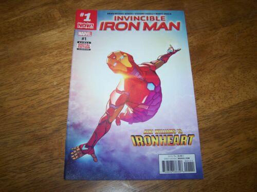 Invincible Iron Man #1 Marvel Comics 2017 Riri Ironheart