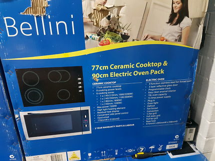 Oven and cook top brand new in the box