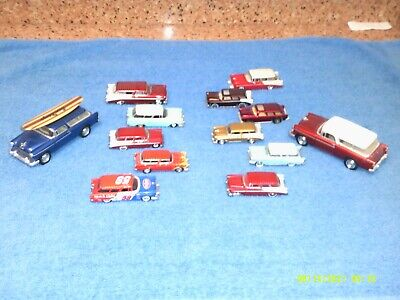 DIECAST CHEVY NOMAD LOT OF 13 GREAT SHAPE !!!!