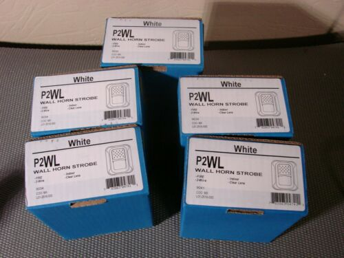 "SYSTEM SENSOR P2WL   ""NEW"" LOT OF FIVE"