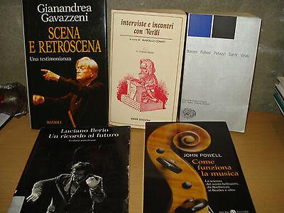 MUSICA -  libri di argomento musicale, in brossura, ottime condiz., a 10 € cad.