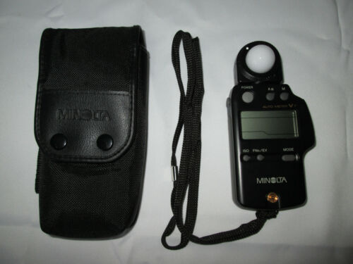 Minolta Auto Meter VF Flash Meter