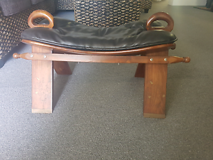 Stool leather antique Clemton Park Canterbury Area Preview