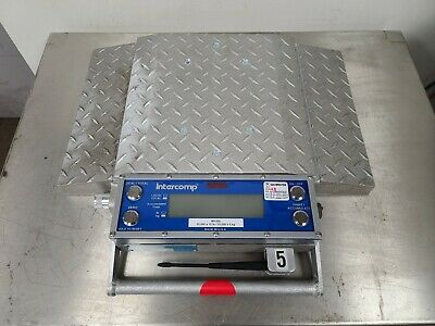 Intercomp Mh-300a 101200 Wireless Portable Truck Scale 20000lbs X 10lbs Z2s3
