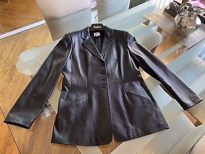 Womens Armani Dress Leather Jacket 14
