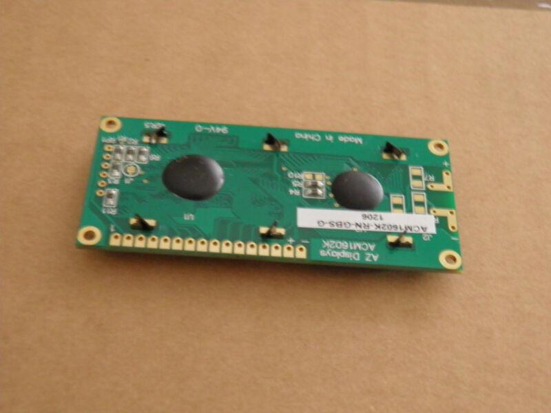 AZ Displays ACM1602K-RN-GBS-G