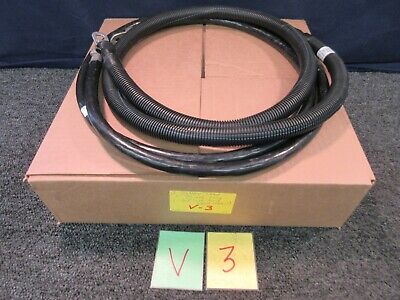 Military Surplus Battery Electrical Cable Wire 40 63 70 Black Lug Terminal