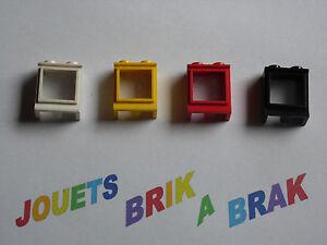 Lego fenetre windows avec vitre glass 1x2x2 vintage choose for Fenetre lego