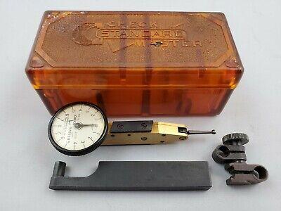 Vintage Standard Gage Co. Check Master Jeweled 0.001 Dial Indicator J8 20017