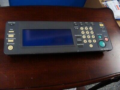 Konica Bizhub C250 C450 Control Panel Part Number 4038-6052-02 Km0006002
