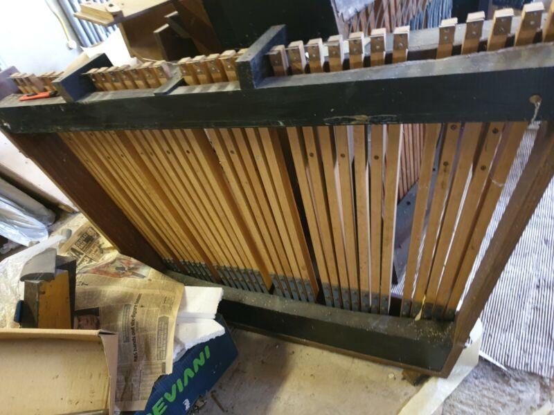 32 Note Church Organ Pedal Board 2/3